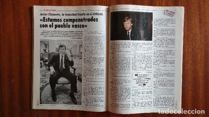 Coleccionismo de Revista Tiempo: REVISTA TIEMPO Nº 56-1983 - POSTER CENTRAL WINSTON - JAVIER CLEMENTE - JUSTO FERNANDEZ UGT - Foto 8 - 84971112