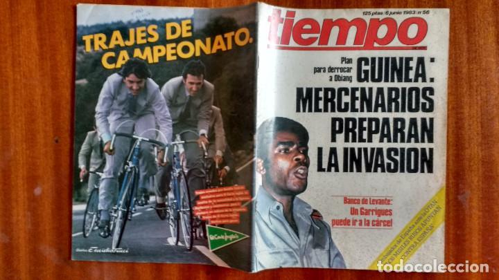 Coleccionismo de Revista Tiempo: REVISTA TIEMPO Nº 56-1983 - POSTER CENTRAL WINSTON - JAVIER CLEMENTE - JUSTO FERNANDEZ UGT - Foto 9 - 84971112