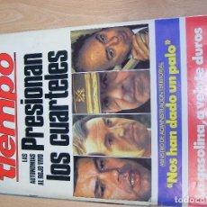 Coleccionismo de Revista Tiempo: REVISTA TIEMPO. Lote 86518596