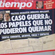 Coleccionismo de Revista Tiempo: REVISTA TIEMPO 405 1990 JULIO IGLESIAS, ELLEN BARKIN, LUZ CASAL, MARTA CHAVARRI, MIQUEL BARCELO. Lote 87338708
