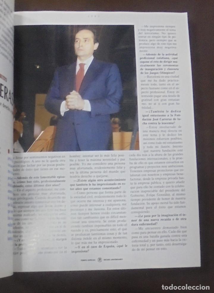 Coleccionismo de Revista Tiempo: REVISTA TIEMPO DE HOY. 24 FEBRERO 1992. DIEZ AÑOS. 1982 - 1992. GRUPO ZETA - Foto 4 - 87422204