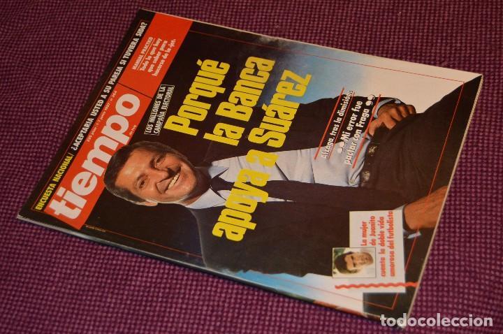 Coleccionismo de Revista Tiempo: LOTE 7 REVISTAS TIEMPO - AÑOS 80 - PERIODO POLITICO Y SOCIAL MUY INTERESANTE - HAZME OFERTA - LOT 01 - Foto 5 - 89214700