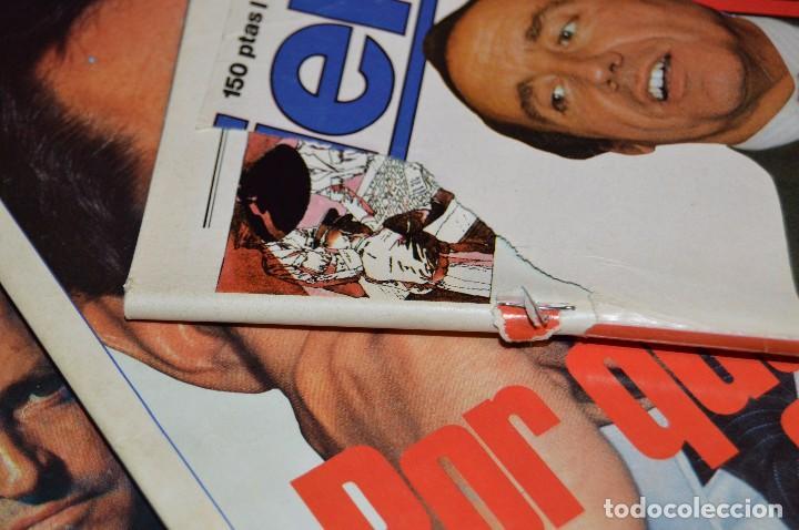 Coleccionismo de Revista Tiempo: LOTE 7 REVISTAS TIEMPO - AÑOS 80 - PERIODO POLITICO Y SOCIAL MUY INTERESANTE - HAZME OFERTA - LOT 02 - Foto 5 - 89215076