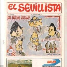 Colecionismo da Revista Tiempo: EL SEVILLISTA. Nº 3. JUNIO 1986. (B/58). Lote 89433936
