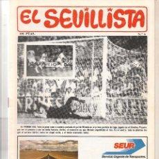 Colecionismo da Revista Tiempo: EL SEVILLISTA. Nº 6. 1986. (B/58). Lote 89434316