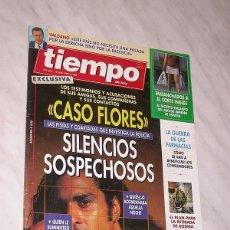 Coleccionismo de Revista Tiempo: REVISTA TIEMPO Nº 685, JUNIO 1995. CASO ANTONIO FLORES, ENGANCHADOS CORTE INGLÉS, GUERRA FARMACIAS. Lote 98733832