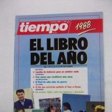 Coleccionismo de Revista Tiempo: REVISTA TIEMPO DE HOY. Nº 350. 16 ENERO 1989. EL LIBRO DEL AÑO. TDKR40. Lote 96586303