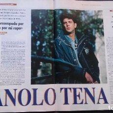 Coleccionismo de Revista Tiempo: TIEMPO-1994-MANOLO TENA-PALOMA LAGO-CELIA CRUZ-ALFREDO BRYCE ECHENIQUE-JUAN LUIS GUERRA-PARIS DAKAR. Lote 97140667