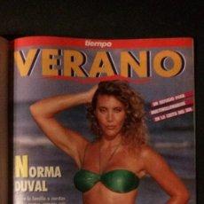 Coleccionismo de Revista Tiempo: TIEMPO 536-1992-NORMA DUVAL-MARIO VARGAS LLOSA-MARTA SANCHEZ-MICHAEL JORDAN-SALMAN RUSHDIE. Lote 97172035