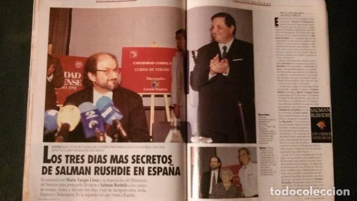 Coleccionismo de Revista Tiempo: TIEMPO 536-1992-NORMA DUVAL-MARIO VARGAS LLOSA-MARTA SANCHEZ-MICHAEL JORDAN-SALMAN RUSHDIE - Foto 7 - 97172035