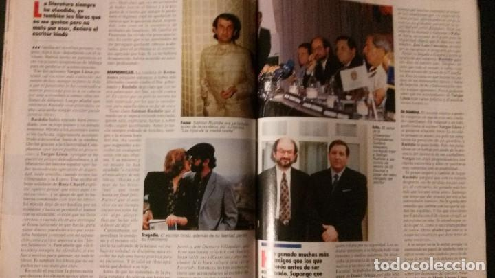 Coleccionismo de Revista Tiempo: TIEMPO 536-1992-NORMA DUVAL-MARIO VARGAS LLOSA-MARTA SANCHEZ-MICHAEL JORDAN-SALMAN RUSHDIE - Foto 8 - 97172035