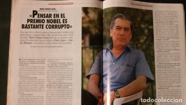 Coleccionismo de Revista Tiempo: TIEMPO 536-1992-NORMA DUVAL-MARIO VARGAS LLOSA-MARTA SANCHEZ-MICHAEL JORDAN-SALMAN RUSHDIE - Foto 9 - 97172035