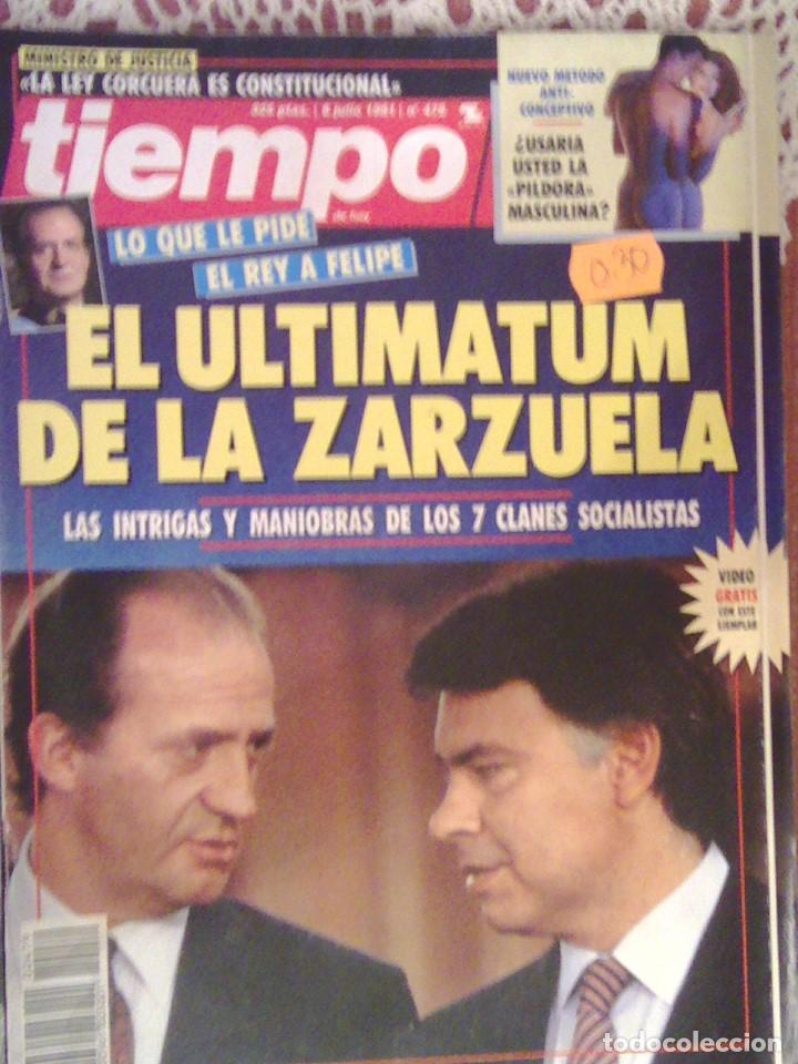 TIEMPO Nº 479 8 DE JULIO DE 1999 (Coleccionismo - Revistas y Periódicos Modernos (a partir de 1.940) - Revista Tiempo)