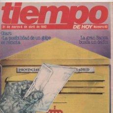Coleccionismo de Revista Tiempo: REVISTA TIEMPO Nº 45 23-F CONSEJO DE GUERRA, SIGUE LA CONJURA ORÍGENES REVISTA TIEMPO COMO SEPARATA . Lote 98489751