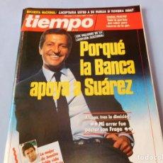 Coleccionismo de Revista Tiempo: REVISTA QUE SE HACE ECO DE LA DIMISIÓN DE ADOLFO SUAREZ Y DE LOS ATENTADOS DE ATOCHA. Lote 99322339