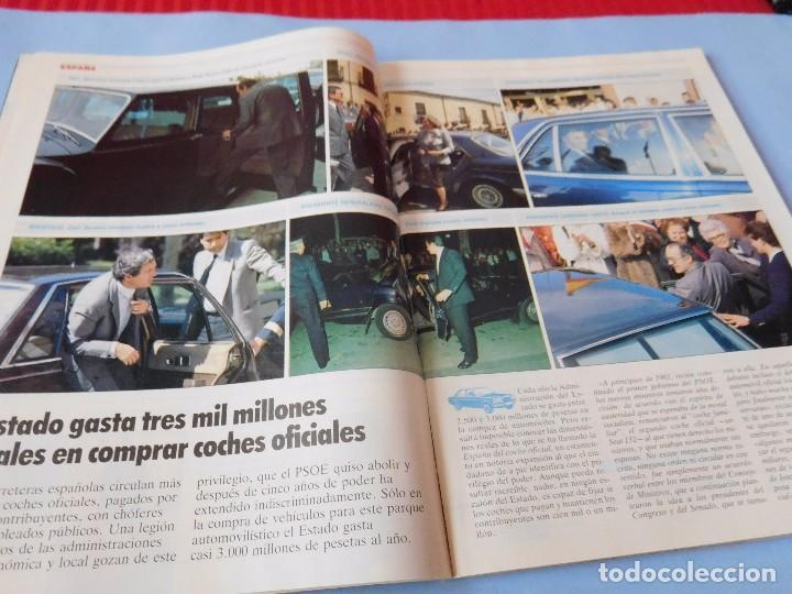 Coleccionismo de Revista Tiempo: Revista que se hace eco de la dimisión de Adolfo Suarez y de los atentados de Atocha - Foto 4 - 99322339