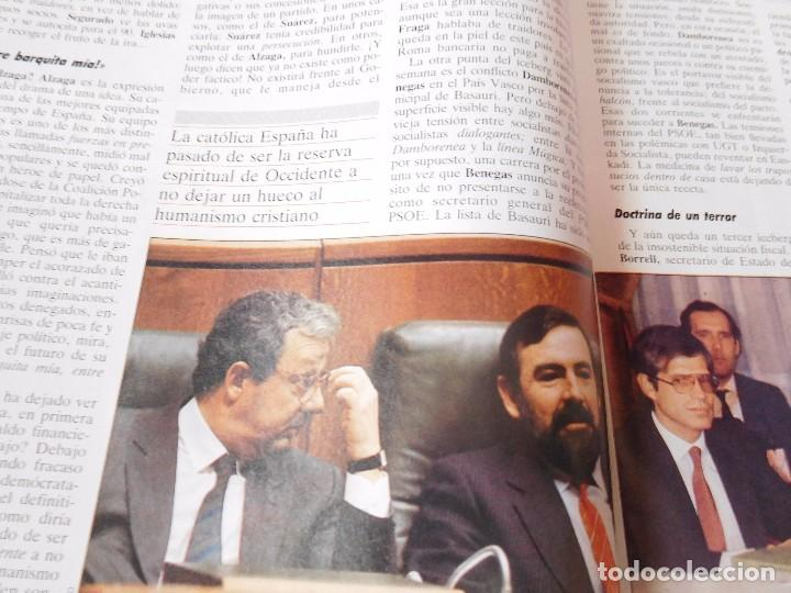Coleccionismo de Revista Tiempo: Revista que se hace eco de la dimisión de Adolfo Suarez y de los atentados de Atocha - Foto 5 - 99322339