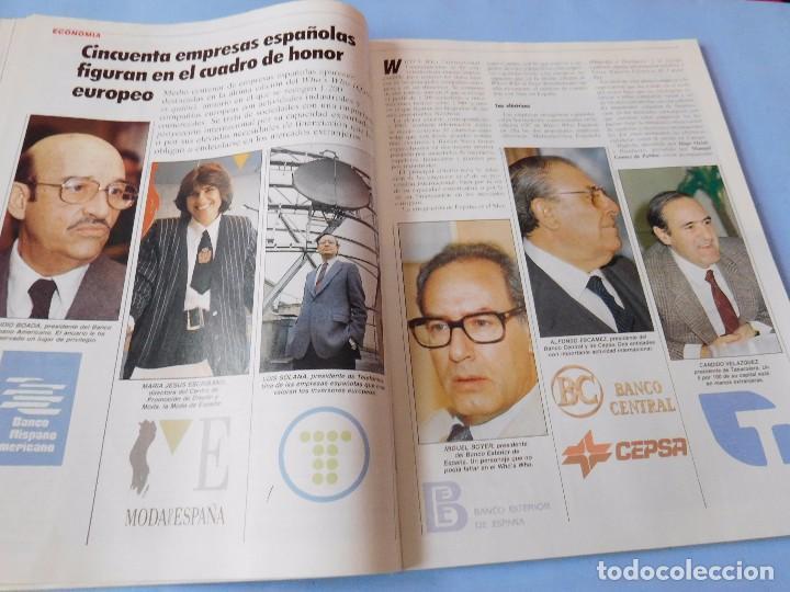 Coleccionismo de Revista Tiempo: Revista que se hace eco de la dimisión de Adolfo Suarez y de los atentados de Atocha - Foto 9 - 99322339
