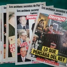 Coleccionismo de Revista Tiempo: LOS ARCHIVOS SECRETOS DE FRANCO -REVISTA TIEMPO 16/U. Lote 100120747