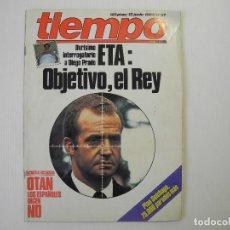 Coleccionismo de Revista Tiempo: TIEMPO. N. 57. ETA: OBJETIVO, EL REY.. Lote 100452287