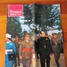 Coleccionismo de Revista Tiempo: TIEMPO NUEVO Nº64 JUNIO DE 1959 AÑO V REVISTA ILUSTRADA PORTADA FRANCO. Lote 100533191