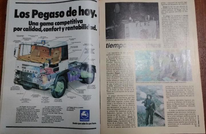 Coleccionismo de Revista Tiempo: REVISTA TIEMPO Nº 54-1983 - VICTOR MANUEL - FELIPE GONZALEZ (1) - PUBLICIDAD PEGASO-RICARD - Foto 13 - 84968996