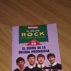 Coleccionismo de Revista Tiempo: TIEMPO - LIBRITO EL MEJOR ROCK AÑOS 60. Lote 106196043