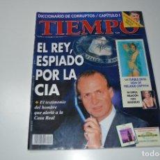 Coleccionismo de Revista Tiempo: TIEMPO, EL REY ESPIADO POR LA CIA. Lote 108841455