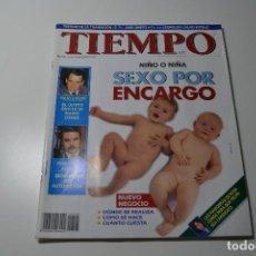 Coleccionismo de Revista Tiempo: TIEMPO NIÑO O NIÑA SEXO POR ENCARGO. Lote 108842735