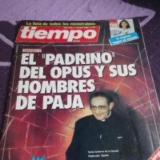 Coleccionismo de Revista Tiempo: REVISTA TIEMPO DE HOY. Nº 217. 13 JULIO 1986.MUNDIAL BALONCESTO PUBLICIDADES AMSTRAD Y FEBER ETC. Lote 112223231
