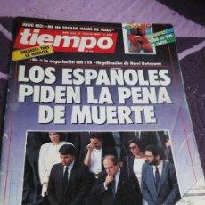 Coleccionismo de Revista Tiempo: REVISTA TIEMPO 1987 NUMERO 269 ILONA STALLER , PENA DE MUERTE ETA, ETC VER SUMARIO. Lote 112266055