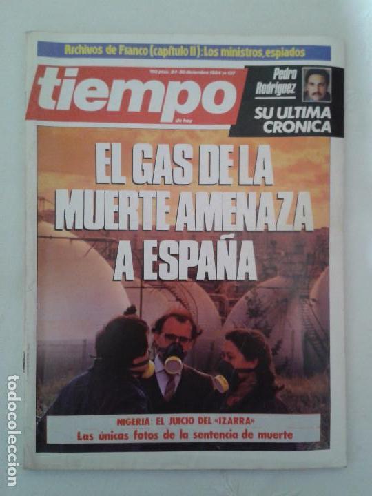 Coleccionismo de Revista Tiempo: Lote de 14 revistas TIEMPO (9 de ellas de los archivos secretos de Franco). VER DESCRIPCION Y FOTOS - Foto 2 - 112468631