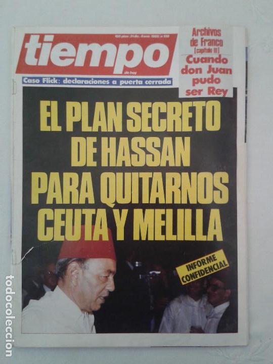 Coleccionismo de Revista Tiempo: Lote de 14 revistas TIEMPO (9 de ellas de los archivos secretos de Franco). VER DESCRIPCION Y FOTOS - Foto 3 - 112468631