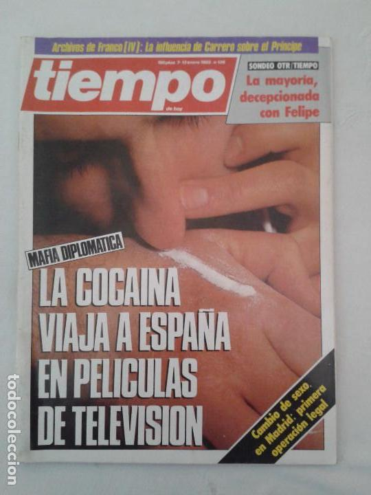 Coleccionismo de Revista Tiempo: Lote de 14 revistas TIEMPO (9 de ellas de los archivos secretos de Franco). VER DESCRIPCION Y FOTOS - Foto 4 - 112468631