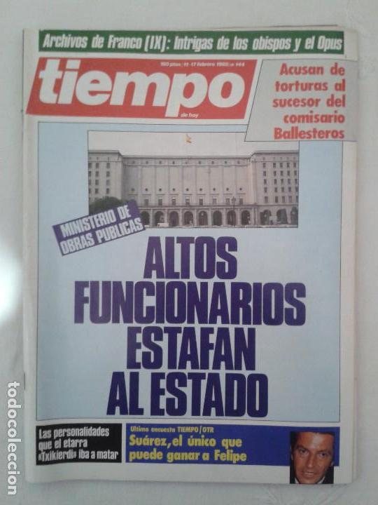 Coleccionismo de Revista Tiempo: Lote de 14 revistas TIEMPO (9 de ellas de los archivos secretos de Franco). VER DESCRIPCION Y FOTOS - Foto 5 - 112468631