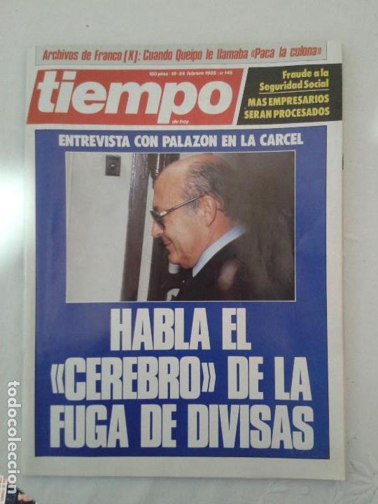 Coleccionismo de Revista Tiempo: Lote de 14 revistas TIEMPO (9 de ellas de los archivos secretos de Franco). VER DESCRIPCION Y FOTOS - Foto 6 - 112468631