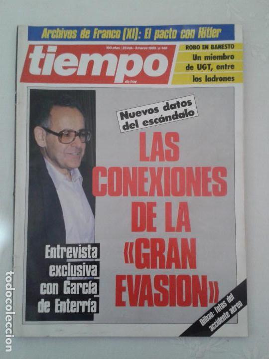 Coleccionismo de Revista Tiempo: Lote de 14 revistas TIEMPO (9 de ellas de los archivos secretos de Franco). VER DESCRIPCION Y FOTOS - Foto 7 - 112468631