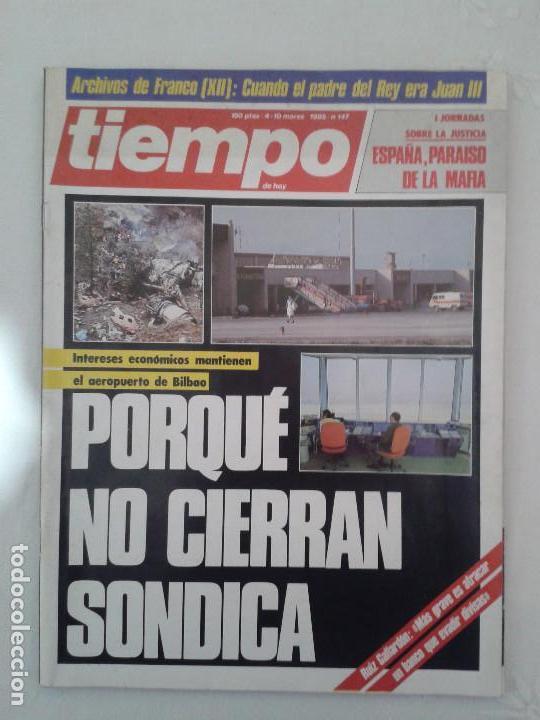 Coleccionismo de Revista Tiempo: Lote de 14 revistas TIEMPO (9 de ellas de los archivos secretos de Franco). VER DESCRIPCION Y FOTOS - Foto 8 - 112468631