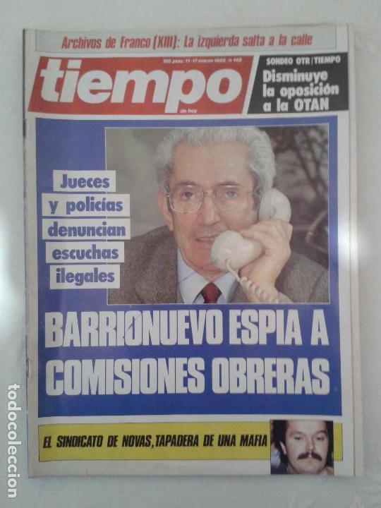 Coleccionismo de Revista Tiempo: Lote de 14 revistas TIEMPO (9 de ellas de los archivos secretos de Franco). VER DESCRIPCION Y FOTOS - Foto 9 - 112468631