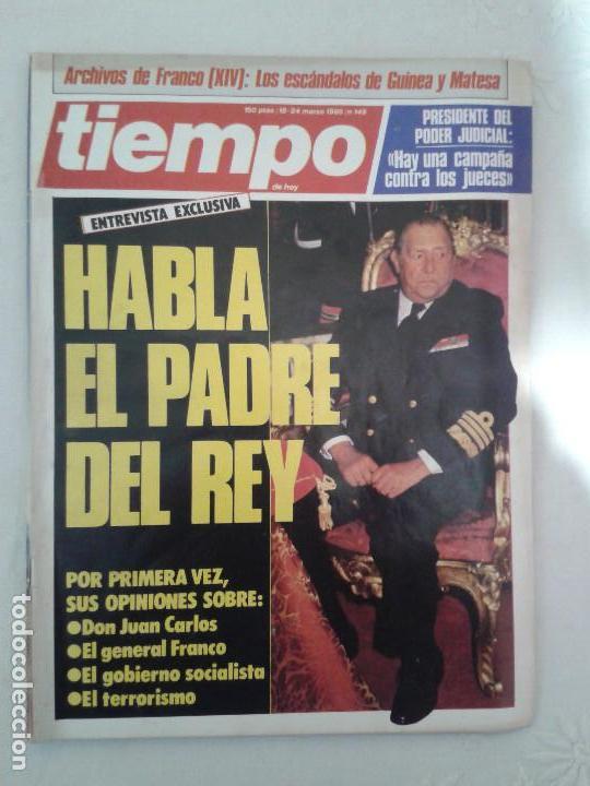 Coleccionismo de Revista Tiempo: Lote de 14 revistas TIEMPO (9 de ellas de los archivos secretos de Franco). VER DESCRIPCION Y FOTOS - Foto 10 - 112468631