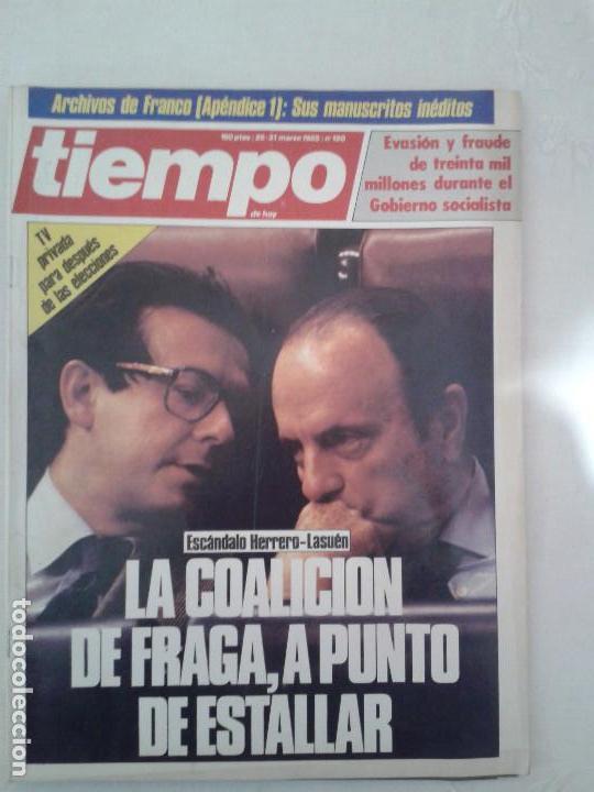 Coleccionismo de Revista Tiempo: Lote de 14 revistas TIEMPO (9 de ellas de los archivos secretos de Franco). VER DESCRIPCION Y FOTOS - Foto 11 - 112468631