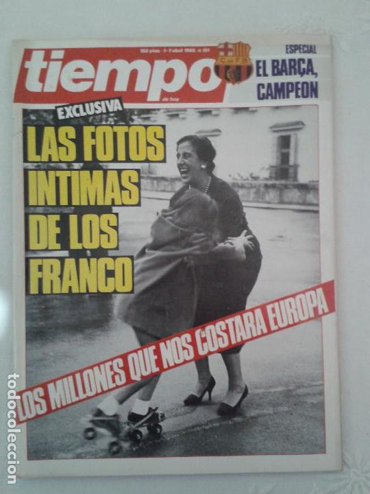 Coleccionismo de Revista Tiempo: Lote de 14 revistas TIEMPO (9 de ellas de los archivos secretos de Franco). VER DESCRIPCION Y FOTOS - Foto 12 - 112468631