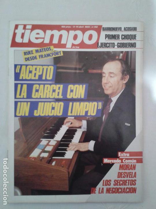 Coleccionismo de Revista Tiempo: Lote de 14 revistas TIEMPO (9 de ellas de los archivos secretos de Franco). VER DESCRIPCION Y FOTOS - Foto 13 - 112468631