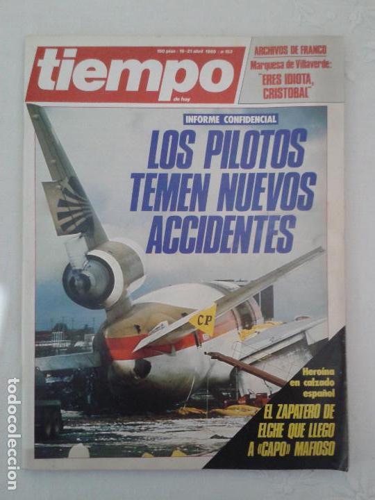 Coleccionismo de Revista Tiempo: Lote de 14 revistas TIEMPO (9 de ellas de los archivos secretos de Franco). VER DESCRIPCION Y FOTOS - Foto 14 - 112468631