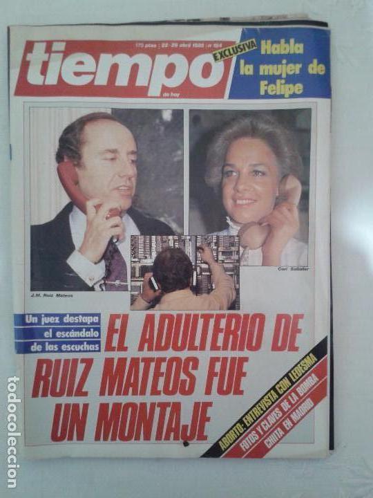 Coleccionismo de Revista Tiempo: Lote de 14 revistas TIEMPO (9 de ellas de los archivos secretos de Franco). VER DESCRIPCION Y FOTOS - Foto 15 - 112468631