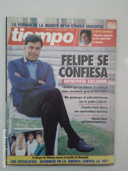 Coleccionismo de Revista Tiempo: Lote de 14 revistas TIEMPO (9 de ellas de los archivos secretos de Franco). VER DESCRIPCION Y FOTOS - Foto 16 - 112468631
