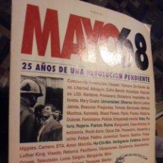 Coleccionismo de Revista Tiempo: CUADERNO MAYO 68 ( 1993 ) 25 AÑOS REVOLUCION - AUTE MASSIEL UMBRAL ABERASTURI PRIETO PRECIADO ARMAS . Lote 116705491