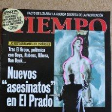 Collectionnisme de Magazine Tiempo: REVISTA TIEMPO. Nº 889. 17 DE MAYO 1999. NUEVOS ASESINATOS EN EL PRADO.. Lote 120207799