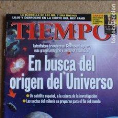 Coleccionismo de Revista Tiempo: REVISTA TIEMPO. Nº 902. 16 DE AGOSTO 1999. EN BUSCA DEL ORIGEN DEL UNIVERSO. . Lote 120207819