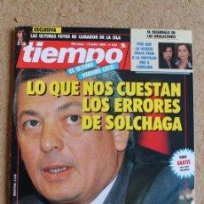 Coleccionismo de Revista Tiempo: REVISTA TIEMPO. Nº 532. 13 DE JULIO 1992. LO QUE NOS CUESTAN LOS ERRORES DE SOLCHAGA.. Lote 120214243